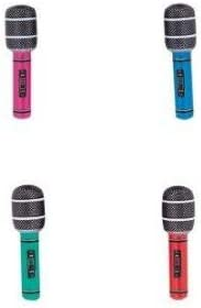 Micrófonos 26.7cm Surtido Inflable Hinchable Musical Instrumentos ...