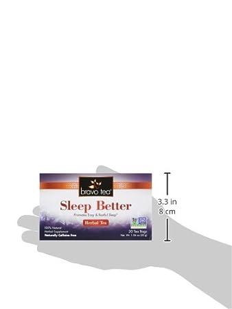 Bravo Teas Sleep Better, 20 Tea Bags