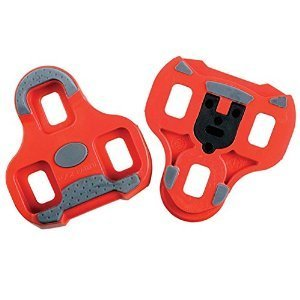 - Look Keo Grip Road Bicycle Cleats (Red - 9 Degree Float)