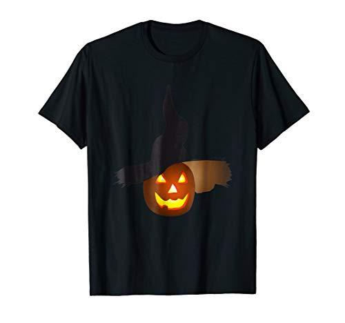 (Evil Pumpkin Face Shirt Horrifying Halloween)