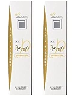 Apagard Premio toothpaste 100g | the first nanohydroxyapatite remineralizing toothpaste (set of 2)