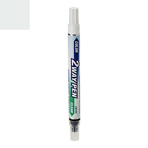 ExpressPaint 2WayPen Honda Civic Automotive Touch-up Paint - Cool Mist Metallic Clearcoat NH-787M - Color + Clearcoat - Honda Civic Paint