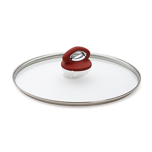Bialetti Aeternum Red 07030 Glass Cover, 12-inch