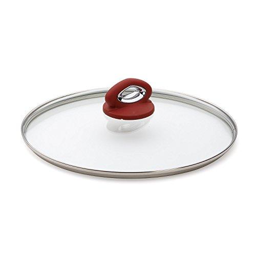 Bialetti Aeternum Red 07030 Glass Cover, 12-inch
