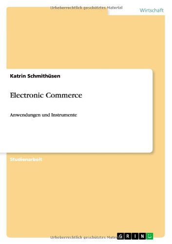 Download Electronic Commerce (German Edition) pdf epub