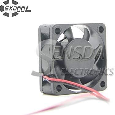 SXDOOL brushless dc cooling fan 30x30x10mm DC 12v 2Pin 3CM 30MM 3010 Mini 3.1CFM 6000RPM