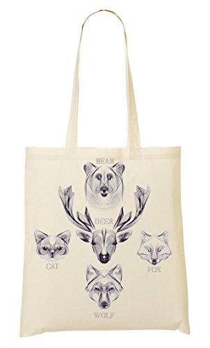 Tout À Fourre Fox Cat Sac Deer Provisions Sac RCFqUOw