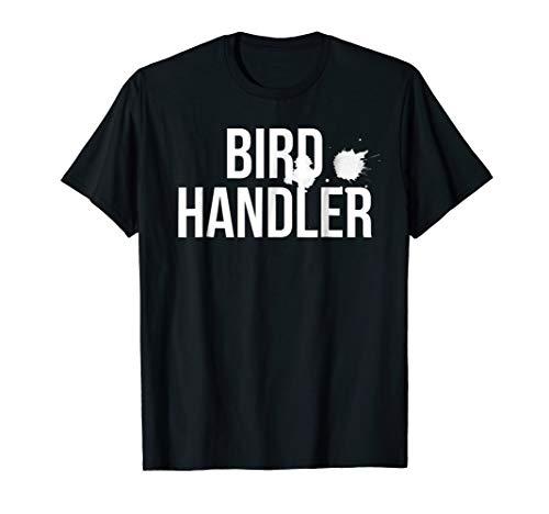 Bird Handler Shirt Halloween Costume tshirt with droppings