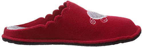 softwaves 522 152 Damen Pantoffeln Rot (red 506)