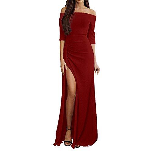 Women Dress,Caopixx Ladies Casual O-Neck Short Sleeve Evening Party Mini Dress Loose Tunic Dress