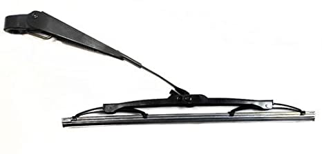 Brazo Limpiaparabrisas Trasero para FORD FIESTA HATCHBACK 2002 a 2009 25 cm/10 de largo tipo de cuchilla trasera Brazo y hoja: Amazon.es: Coche y moto