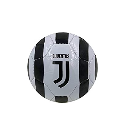 Icon Sports Juventus Soccer Ball, Size 5 & 2 for Kids & Adult, Premium Gift Youth Soccer Ball
