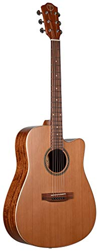 TETON STS105CENT ACOUSTIC ELECTRIC CUTAWAY CEDAR TOP GUITAR