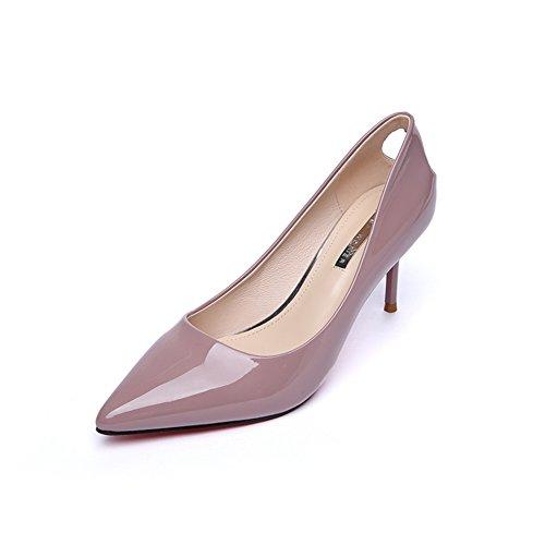 Hoxekle Vrouwen Sexy Hoge Hakken Stiletto Pumps Lente Mode Nieuw Element Schoenen Roze