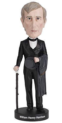 Royal Bobbles William Henry Harrison Bobblehead ()