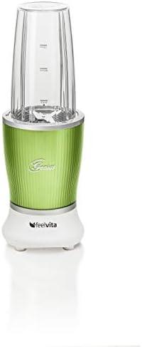 Nutri Mezclador con 13 partes de Genius Feelvita, licuadora de pie ...