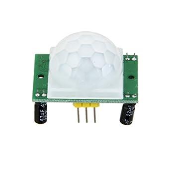 Módulo Detector Sensor De Movimiento Pir Infrarrojos Piroeléctrico Dyp-ME003: Amazon.es: Amazon.es