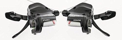 SHIMANO Sora SL-3500/3503 3 x 9 Speed Flat Bar Road Hybrid Bike Shifters New 9 Speed Sti Lever