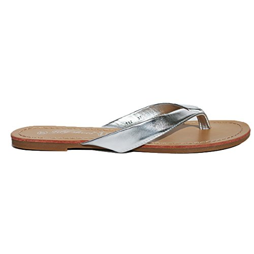 Lily Shoes - Sandalias para mujer Gris / Argent
