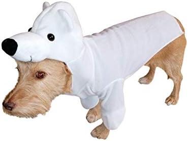 Disfraz de Oso Polar FH01 Talla S para Perros, Disfraces de ...