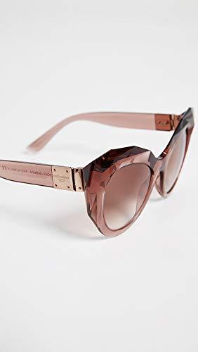 54 Mujer E 0dg6123 Para Gabbana De Gafas Pink Transparente Dolce Sol vO0wq0d