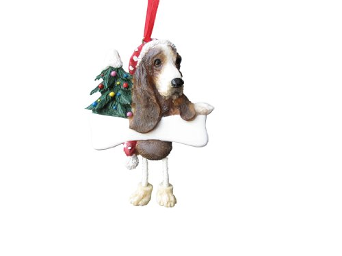 Basset Hound Ornament with Unique