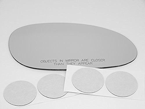 VAM Fits 00-05 Buick Lesabre Right Passenger Convex Mirror Glass Lens w/Silicone Non Heat ()