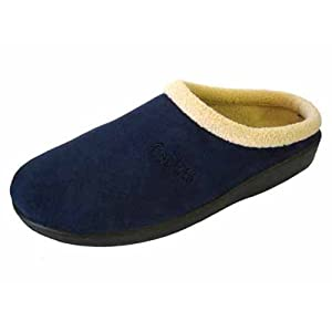 Comfy Dutch Clog Slippers in Blue