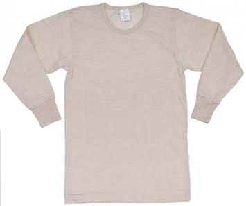 Italiana. Camiseta Interior, Color blanco, manga larga, neuwertig, S
