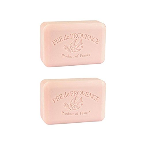 Pre De Provence Peony Soap 250g (Pack of 2) (Soap Peony Bar)