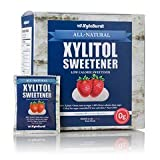 XyloBurst Xylitol Sweetener Packets 4g Packets, Box of 80
