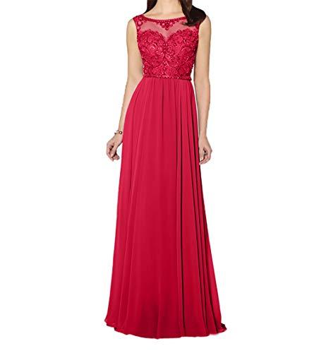 Charmant Dunkel Partykleider Blau Lang Festlichkleider Rot Damen Promkleider Abendkleider Chiffon rpwq5Pr1v