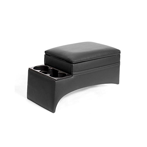 Texas Saddlebags Car and Truck Bench Console, Black ()