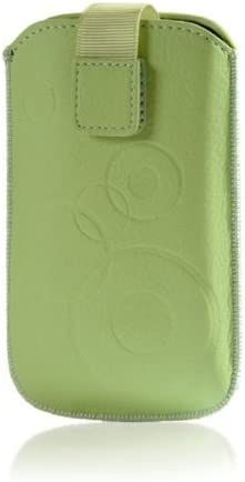 F. Circle – Funda Protectora para Cubot X9 Funda Carcasa Cover Slim Case Crema de Color Verde con Cierre de Velcro: Amazon.es: Electrónica