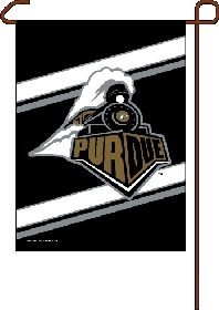 WinCraft Purdue Boilermakers Flag 12x18 Garden Style 2 Sided
