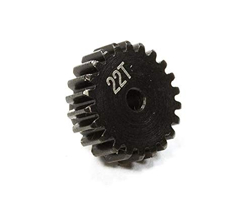Integy RC Model Hop-ups C25895 Billet Machined 22T Pinion Gear for Traxxas LaTrax Rally 1/18 Scale ()