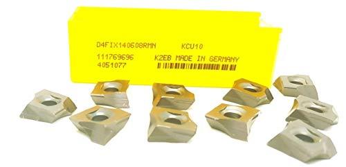 Kennametal D4FIX 140608RMN Hartmetall-Tangential-Halterungseinsätze KCU10#MK2, 10 Stück