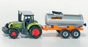 WOW Tractor with Vacuum Tanker (Axle Tanker)