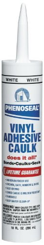 Phenoseal Vinyl Adhesive Caulk, 10 ()