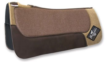 Air Ride Barrel Saddle Pad - Professional Choice Saddle Pad Western Barrel Elite Black PCAR400