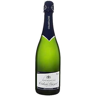 DOMAINE CEDRID GUYOT – Champagne Brut Cuvée Tradition- Lot de 2 Bouteille X 0,75 l – 1 Etoile Guide Hachette 2019