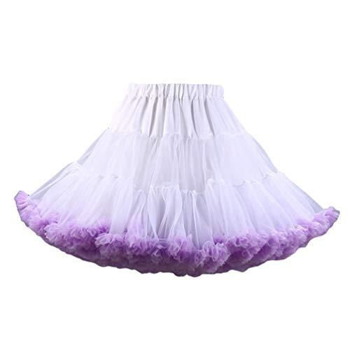 Gonna Mini Skirt Come Tulle 10 Danza Immagine Ballerina Abito Ballo Ragazza Yaancunn Tutu Donna SqgagF