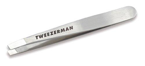 Tweezerman Klassische Mini-Edelstahlpinzette mit abgeschrägten Spitzen