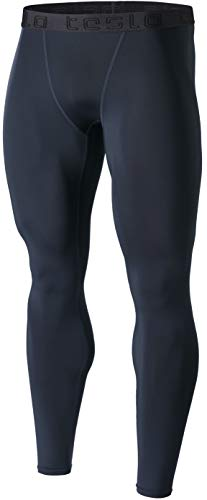 Coldgear Girls Legging (TSLA TM-MUP09-CHZ_2X-Large Men's Compression Pants Baselayer Cool Dry Sports Tights Leggings MUP09)