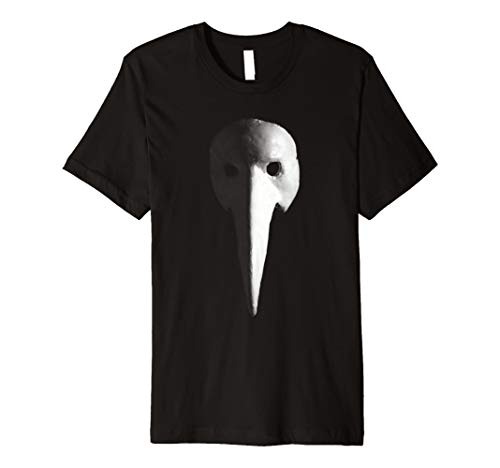 Unique Halloween Plague Doctor Medieval Mask Premium Shirt ()