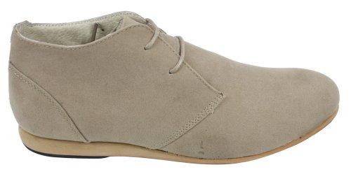 Mens Black Beige Brown Navy Desert Boots Shoes Suede High Top Ankle Chelsea Beige fwTNvEh