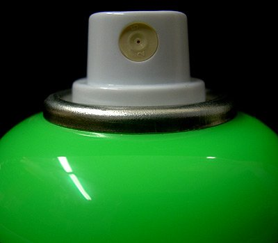Montana GOLD Acrylic Professional Spray Paint 400 ml - Acid Green (Montana Green)