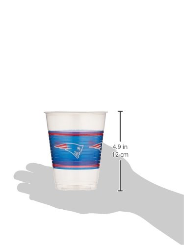 New England Patriots Collection Plastic Party Cups Amscan AMI 422342
