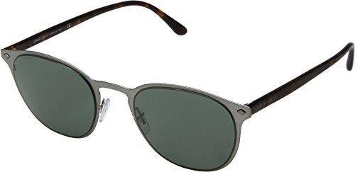 Giorgio Armani  Men's 0AR6062 Matte Gunmetal/Havana/Grey Green One Size (Sunglasses Giorgio Armani)