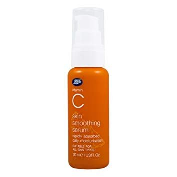 Boots Vitamin C Skin Smoothing Serum 30 ml. (Pack of 2)